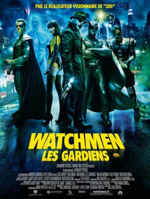 Affiche haute définition de Watchmen - Les Gardiens